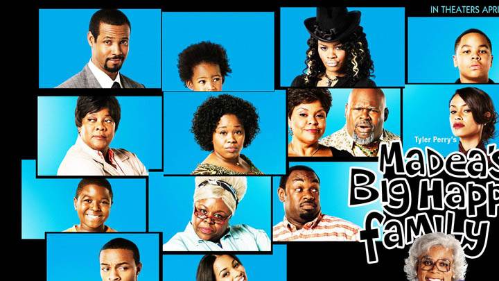 Madea Big Happy Family – All Characters