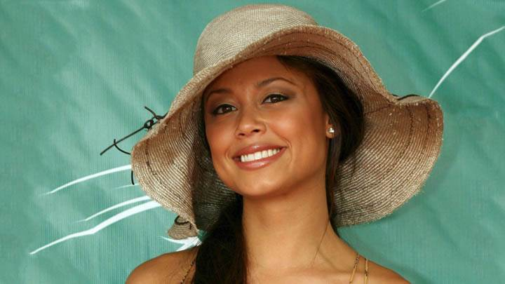 Vanessa Minnillo Smiling Face & Wearing A Hat