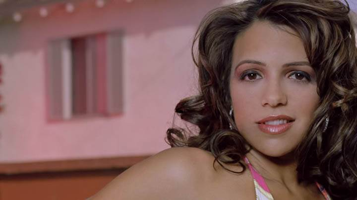 Vida Guerra Pink Lips Smiling Face Closeups