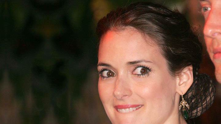 Winona Ryder Cute Eyes Smiling Face Closeups
