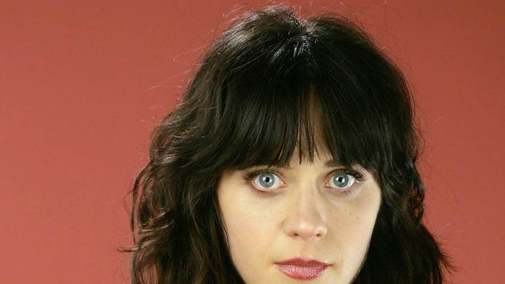 Zooey Deschanel Looking At Camera