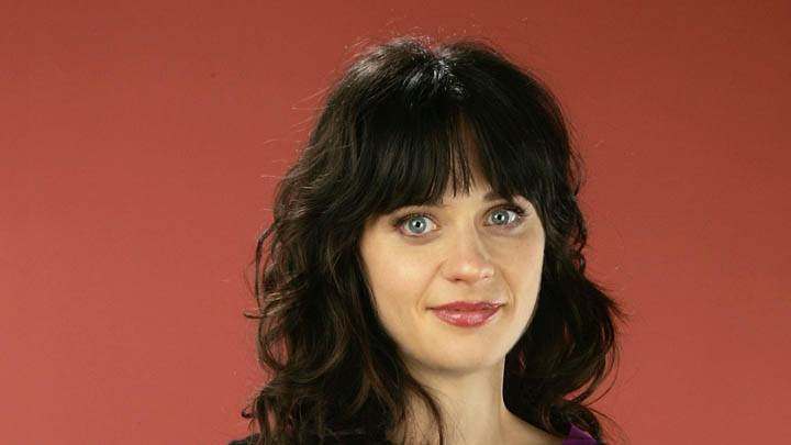 Zooey Deschanel Cute Eyes Face Closeup