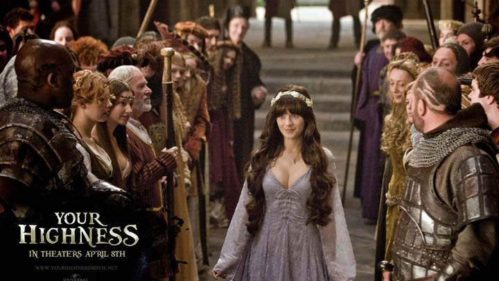 Zooey Deschanel in Your Highness