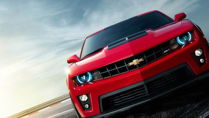 2012 Chevrolet Camaro ZL1 –  Front Closeup in Red