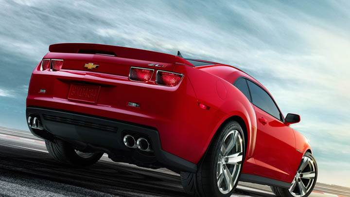 2012 Chevrolet Camaro ZL1 – Side Back Closeup