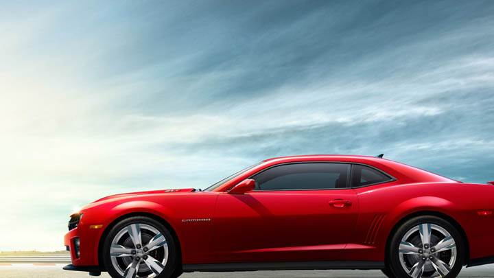 2012 Chevrolet Camaro ZL1 – Side Pose in Red