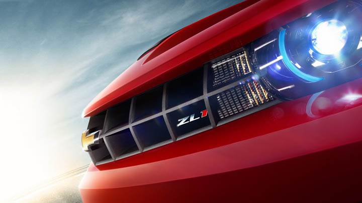 Chevrolet Camaro ZL1 – Blue Headlight