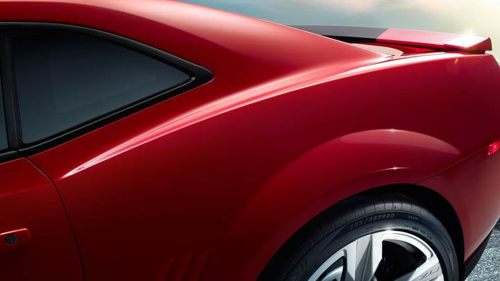 Chevrolet Camaro ZL1 – Tyre Closeup Shoot