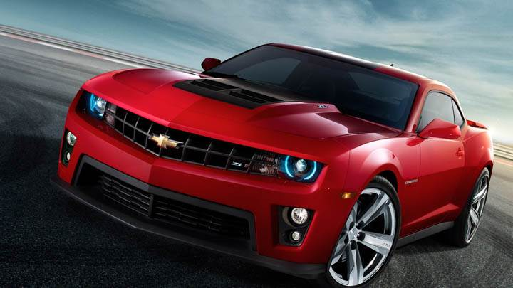 Chevrolet Camaro ZL1 in Red
