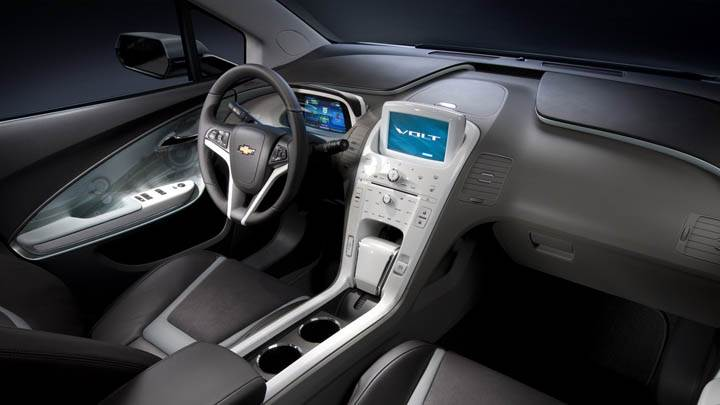Chevrolet Volt – Interior Dashboard