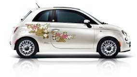 Fiat 500 First Edition – Graphic Design in White