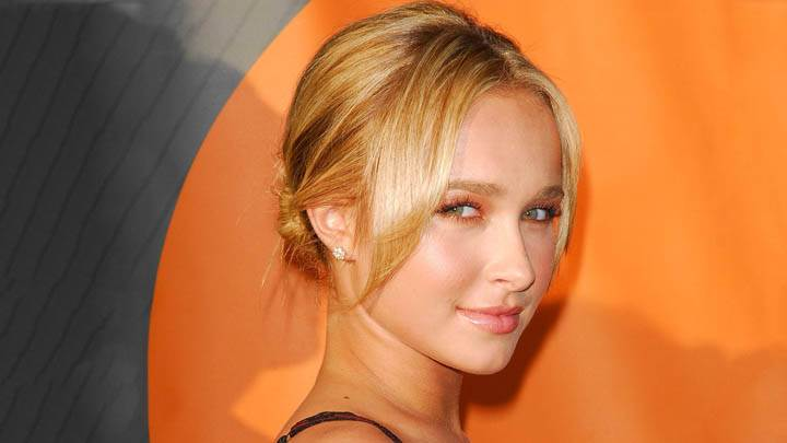 Hayden Panettiere Red Lips N Golden Hair