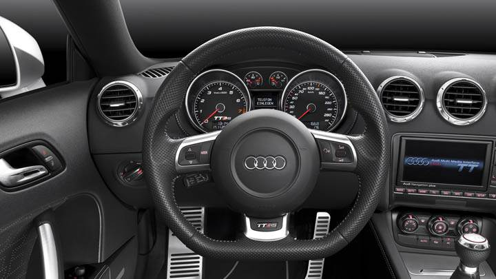Interior Dashboard of Audi TT-RS