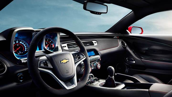 Interior Dashboard of Chevrolet Camaro ZL1