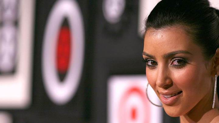 Kim Kardashian Wet Lips N Cute Eyes Face Closeups