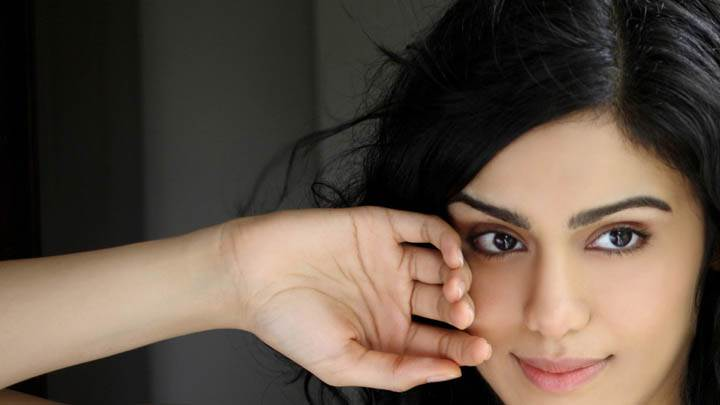 Adah Sharma Hand on Cheek Photoshoot