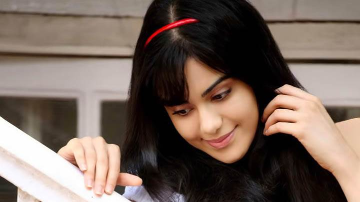Adah Sharma Pink Lips & Cute Face Photoshoot
