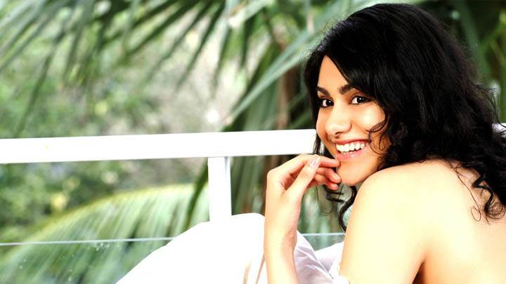 Adah Sharma Smiling Side Pose Photoshoot