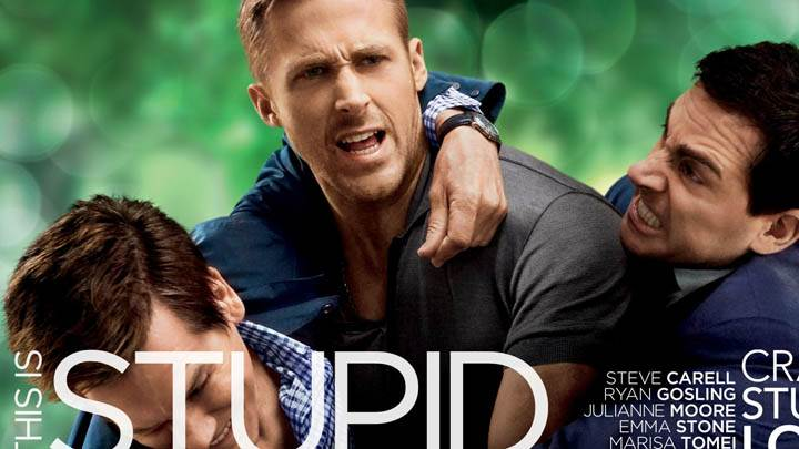 All Three Fighting in Crazy, Stupid, Love