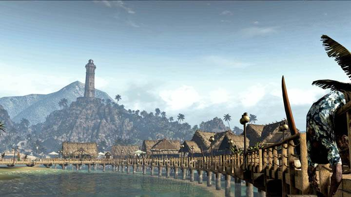 Dead Island – Far View of Island