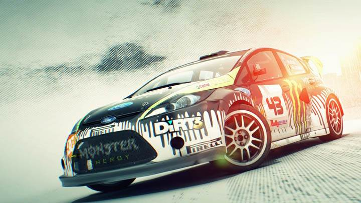 DiRT 3 – Front Side Pose