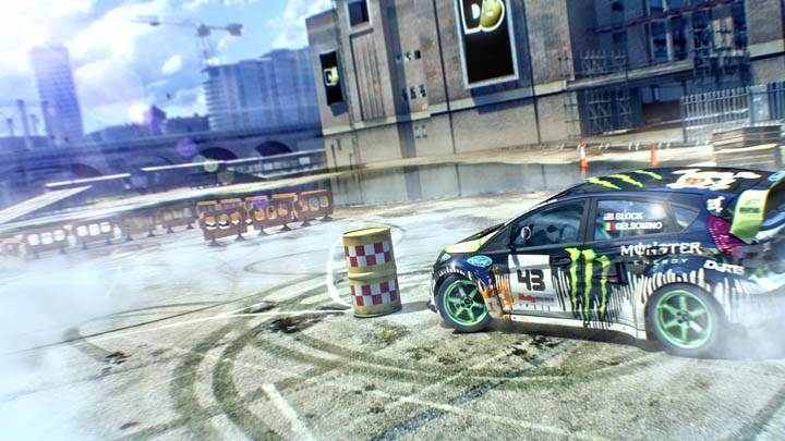 DiRT 3 – Practise in Race Course