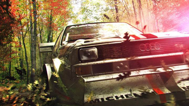 DiRT 3 – Running in Forest