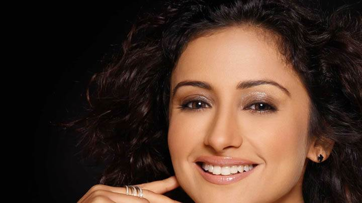 Divya Dutta Smiling Face Closeup