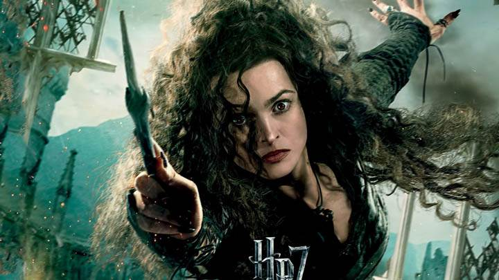 Helena Bonham Carter In Harry Potter And The Deathly Hallows Part 2