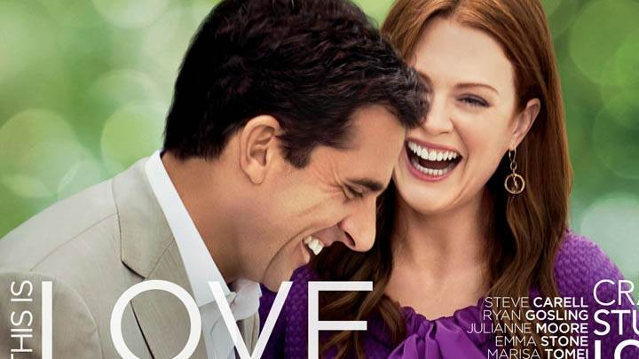 Julianne Moore and Steve Carell in Crazy, Stupid, Love
