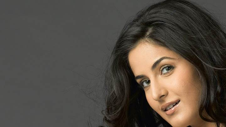 Katrina Kaif Smiling Side Face Closeup