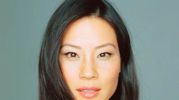 Lucy Liu Pink Lips Face Closeup