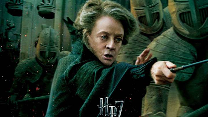 Maggie Smith In Harry Potter And The Deathly Hallows Part 2