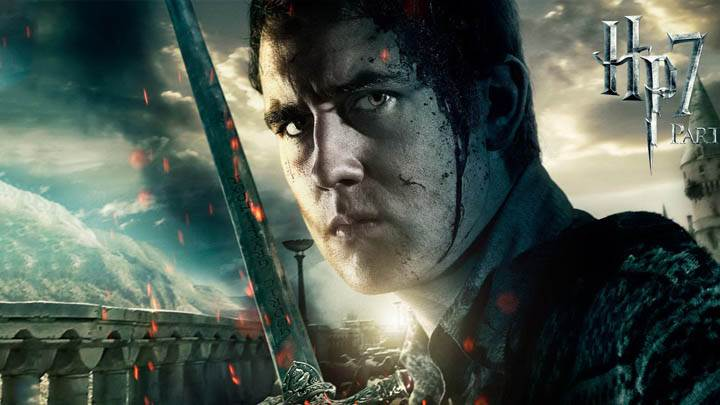 Matthew Lewis Face Closeup In Harry Potter And The Deathly Hallows Part 2