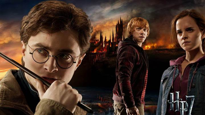 Movie Cover Poster Of Harry Potter And The Deathly Hallows Part 2