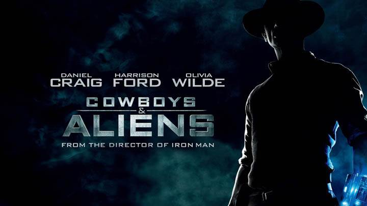 Movie Cover Poster of Cowboys and Aliens