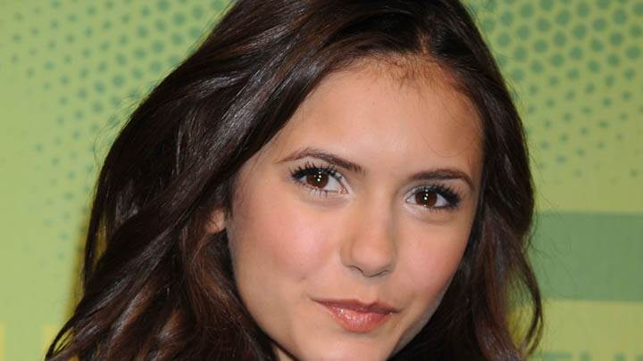 Nina Dobrev Smiling Face Closeup