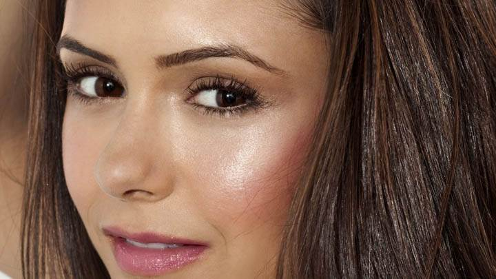 Nina Dobrev Ultra Face Closeup