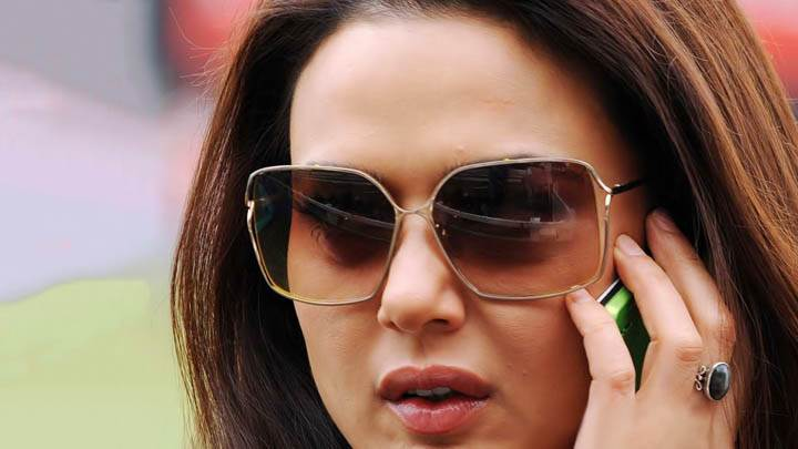 Preity Zinta – Talking On Phone