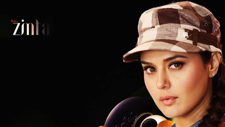 Preity Zinta – Wearing A Hat