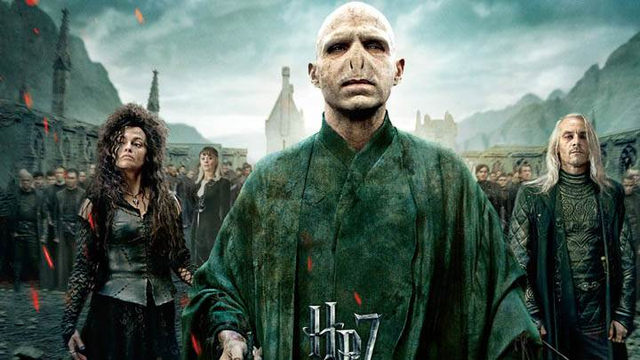Ralph Fiennes Front Pose In Harry Potter And The Deathly Hallows Part 2