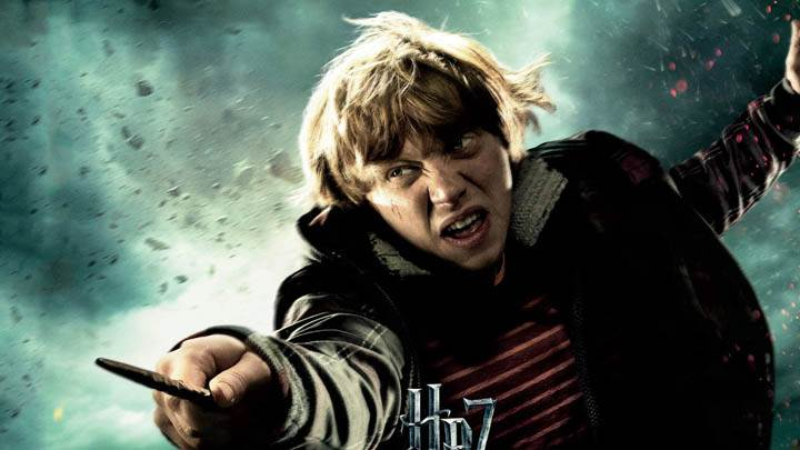 Rupert Grint In Harry Potter And The Deathly Hallows Part 2