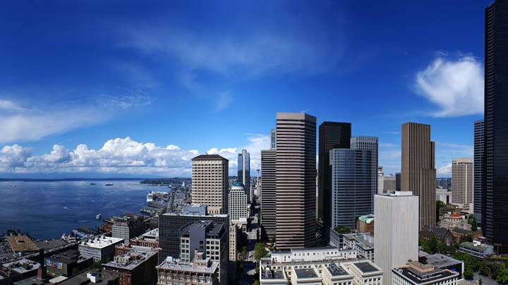 Seattle City At Sea Side United States