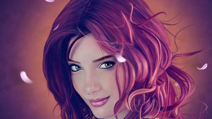 Susan Coffey Artistic Face Closeup