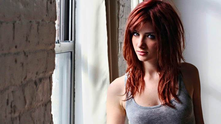Susan Coffey Cute Face in Grey Top
