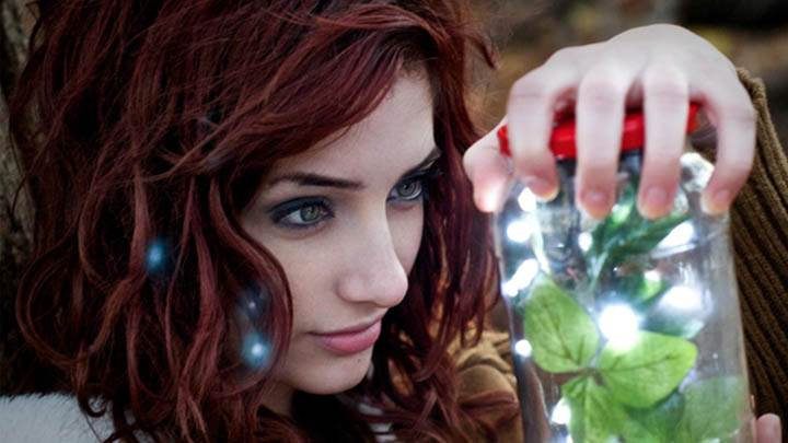 Susan Coffey Jar in Hand Side Face Closeup