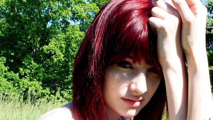 Susan Coffey Red Hairs & Looking Front Face Closeup