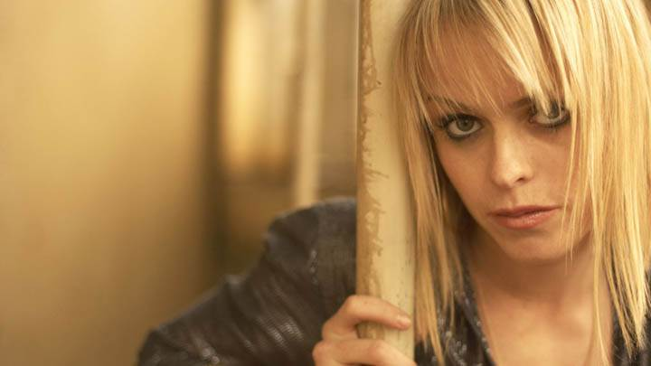 Taryn Manning Looking at Camera