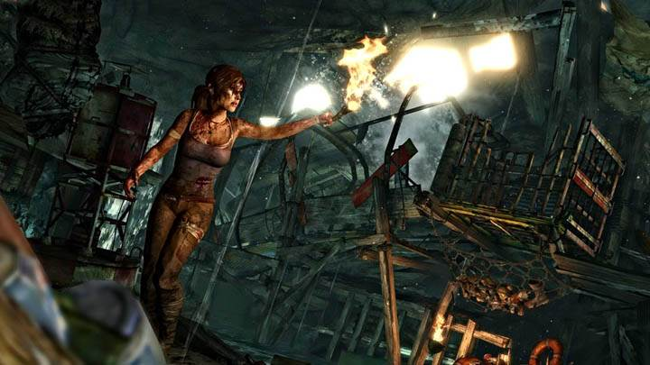Tomb Raider – Checking The Room