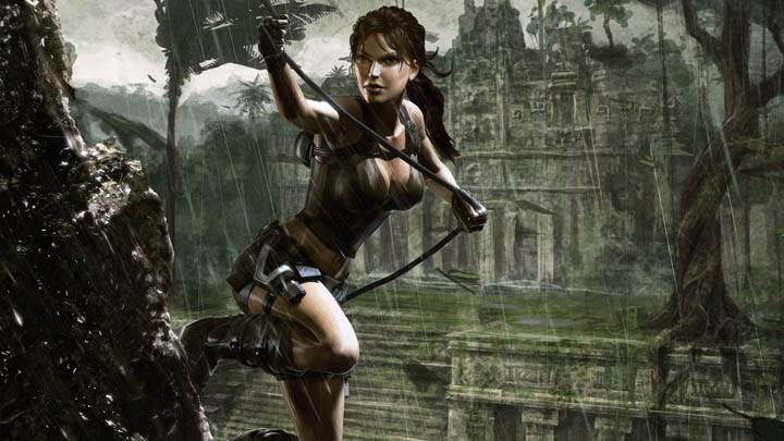 Tomb Raider – Clibming in Rain